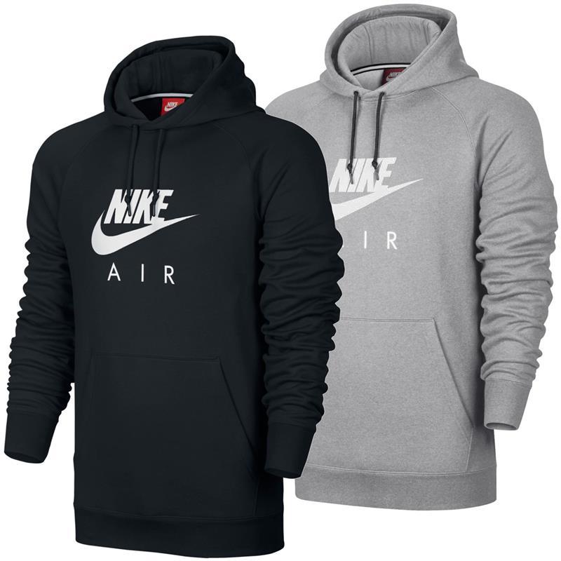 Details about Nike Air Heritage Fleece Hoodie Sweatshirt Hoody Hooded Jumper Sweater show original title
