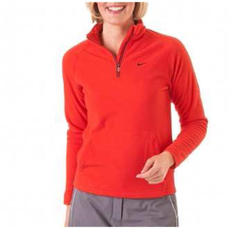 nike golf therma fit kinder fleece pullover schwarz rot ebay. Black Bedroom Furniture Sets. Home Design Ideas