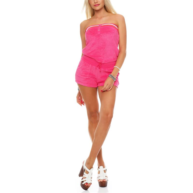 Nike Solid Terry Cover Up One-piece Playsuit