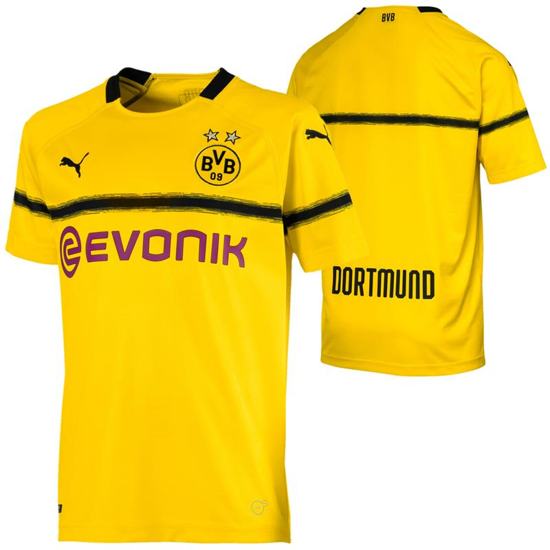 brand new 35874 56cb3 Puma BVB Dortmund Kinder Cup Replica Jersey Trikot