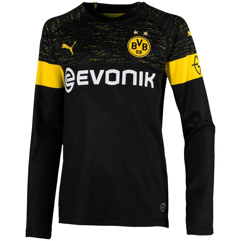 Puma BVB Dortmund LS Kinder Replica Away Trikot Auswärtstrikot