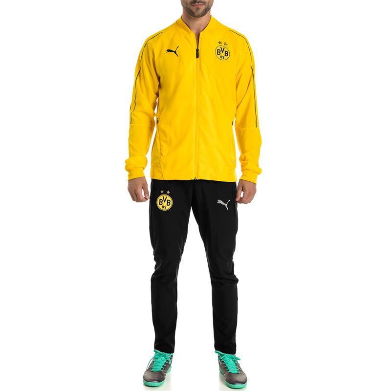 Puma BVB Dortmund Herren Leisure Trainingshose