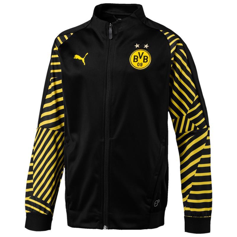 Puma BVB Dortmund Kinder Stadium Jacket Stadionjacke