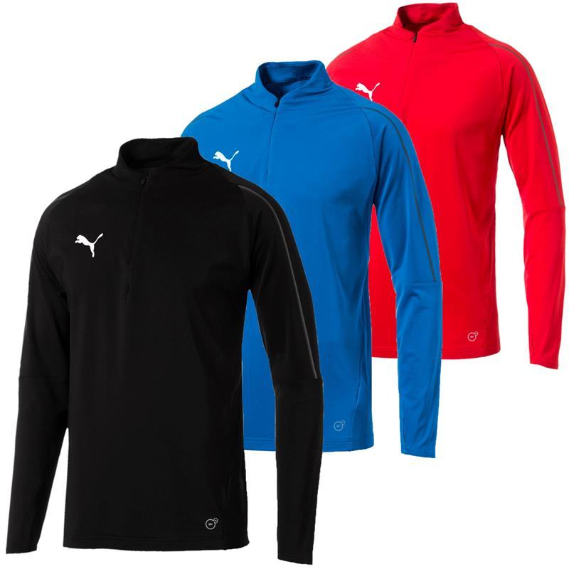 Puma FINAL Training 1/4 Zip Herren Trainingsshirt