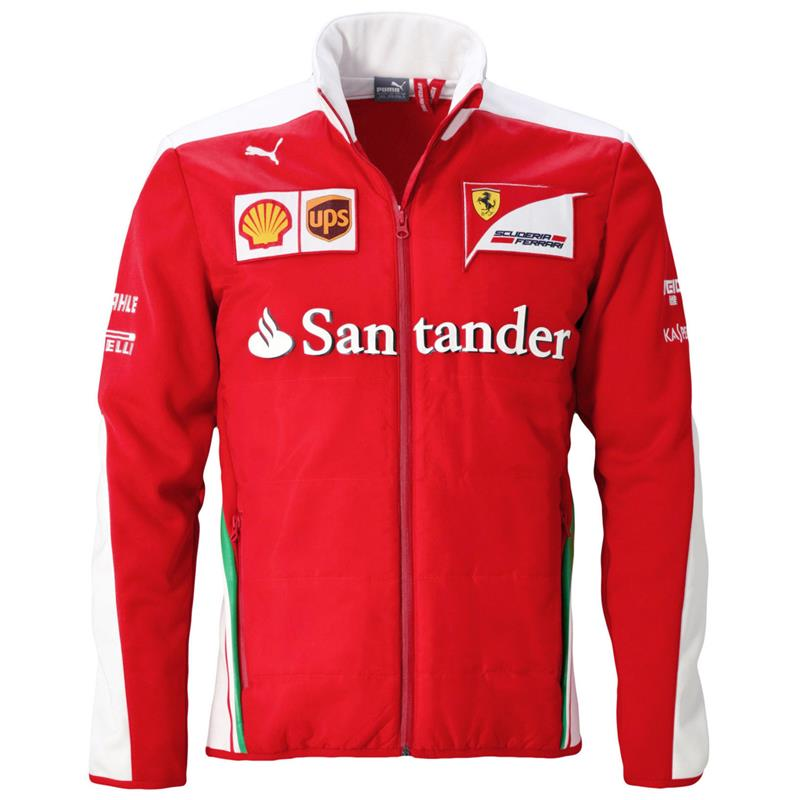 puma sf team soft shell jacket scuderia ferrari formula 1. Black Bedroom Furniture Sets. Home Design Ideas