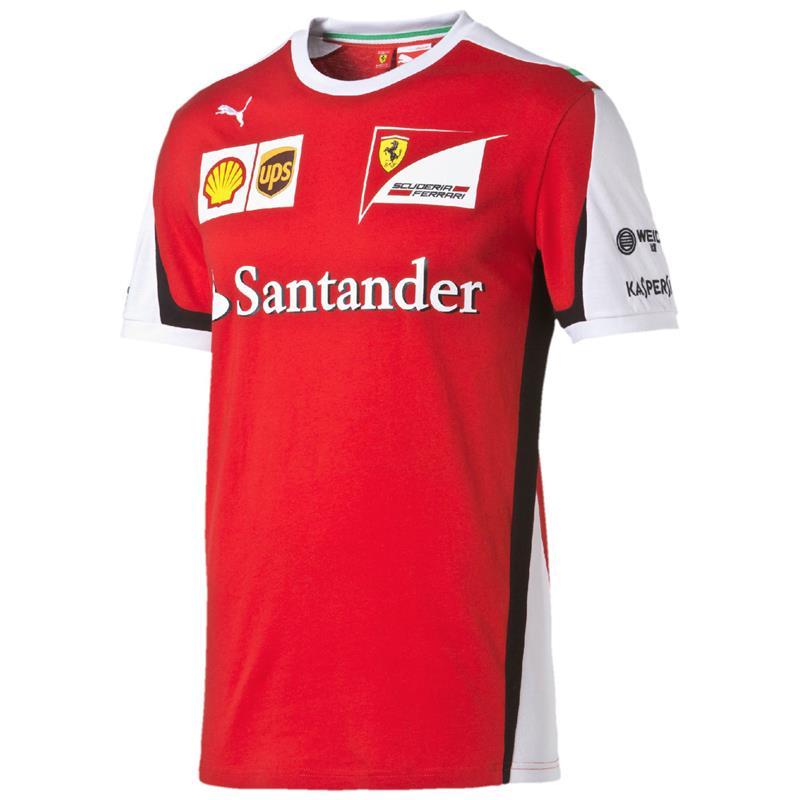 Puma Sf Team Tee Scuderia Ferrari Official Formula 1 T