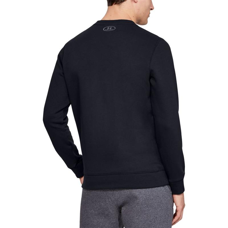 Under Armour Herren UA Rival Solid Fitted Crew Fleece Sweatshirt