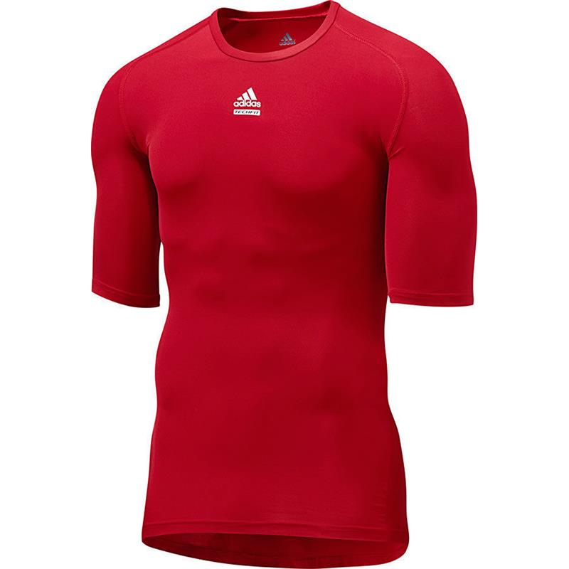 ADIDAS TECHFIT CHILL SL Funktionsshirt Compression