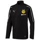 Puma BVB Dortmund Kinder 1/4 Zip Training Langarm Top